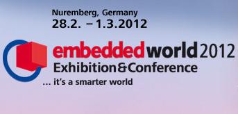 Posetite nas na Embedded World sajmu od 28.02. - 01.03.2012. Nirnberg, Nemačka