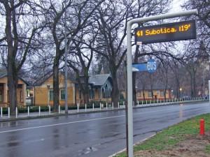 Razvoj integralnog sistema javnog transporta u regionu Subotica-Segedin